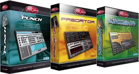 Rob Papen Punch, Predator &amp; SubBoomBass