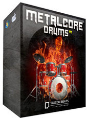 Silicon Beats Metalcore Drum Loops V1