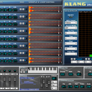 Supersynths Klang Drum Machine