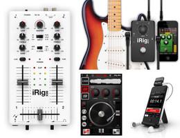 IK Multimedia iRig gear + DJ Rig