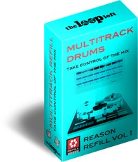 The Loop Loft Multitrack Drums ReFill