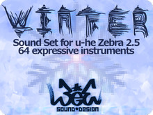3ee Sound Design Winter for u-he Zebra