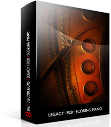 8DIO Legacy 128 Scoring Piano