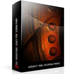 8DIO Legacy 128 Scoring Piano