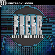 Soundtrack Loops Super Freak Studio Drum Beats