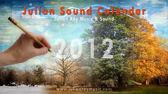 Julian Sound Calendar 2012