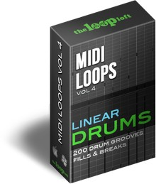 The Loop Loft MIDI Loops Vol 4 Linear Drums