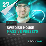 Loopmasters Re-Zone Swedish House Synths Massive Presets