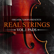 Organic Loops Real Strings Vol 1 Pads