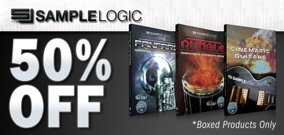 Sample Logic 50% off at Time+Space