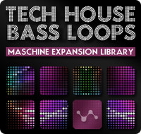 Cluster Sound Tech House Bass Loops