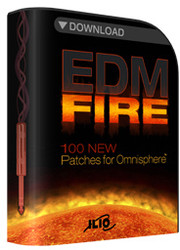 ILIO EDM Fire for Omnisphere