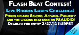 P5Audio Flash Beat Contest