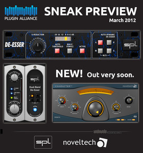 Plugin Alliance SPL and Noveltech preview