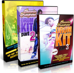 Producers Choice Boonie Mayfield Drum Kit Bundle