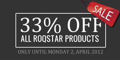 Roqstar 33% Sale