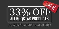 Roqstar 33% Sale