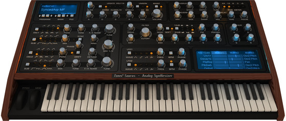 Tone2 Saurus Analog Synthesizer
