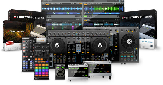 Native Instruments Traktor product line