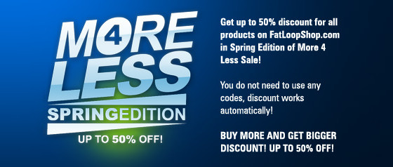 FatLoud More 4 Less Spring Edition