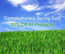 Samplephonics Spring Sale