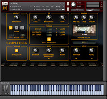 SampleTekk Black for Kontakt Player