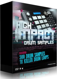 Sounds In HD High Impact Drum Samples