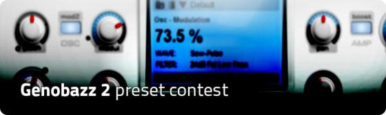 Genobazz 2 presert contest