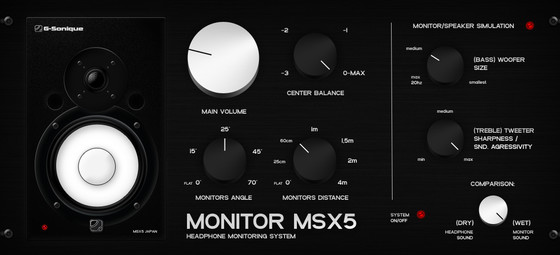 G-Sonique Monitor MSX5