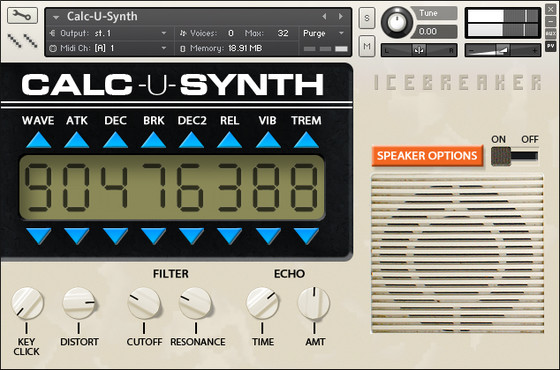 Icebreaker Audio Calc-U-Synth