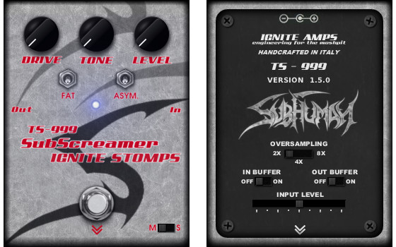 Ignite Amps TS-999 SubScreamer