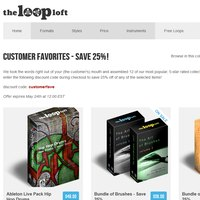 The Loop Loft Customer Favorites