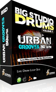 P5Audio Urban Grooves 80BPM