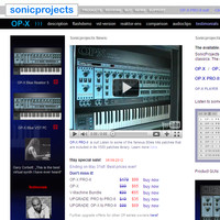 SonicProjects plugins up to 40% off