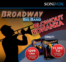 Sonivox Broadway Big Band Blowout Sale