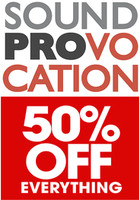 Soundprovocation Summer Sale