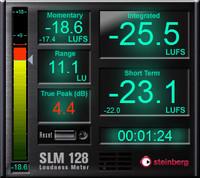 Steinberg SLM 128 Loudness Meter
