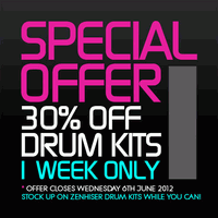 Zenhiser Drum Kits sale