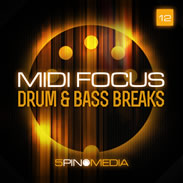 5Pin Media MIDI Focus Drum &amp; Bass Breaks