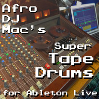 AfroDJMac Super Tape Drums