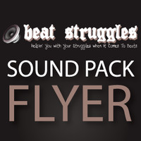 Beatstruggles Sound Pack Flyer