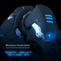 Bluezone Robotic Assault Textured SFX