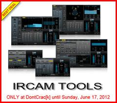 DontCrac[k] IRCAM Tools Sale