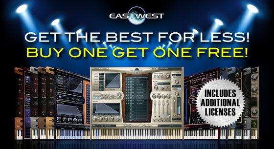 EastWest Buy One Get One Free