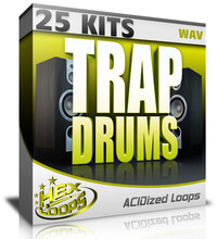 Hex Loops Trap Drums 25 Kits