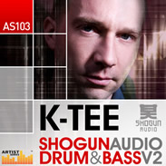 Loopmasters K-Tee Shogun Drum &amp; Bass Vol 2