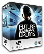 Prime Loops Future Drum & Bass Drums