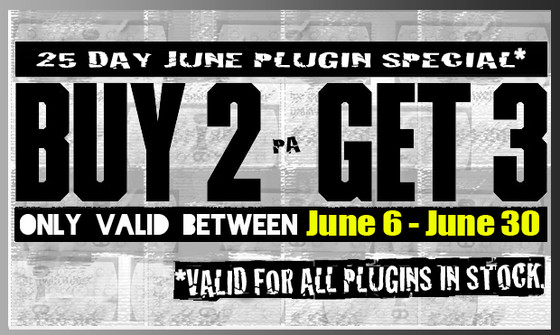 Plugin Alliance Buy 2 Get 3