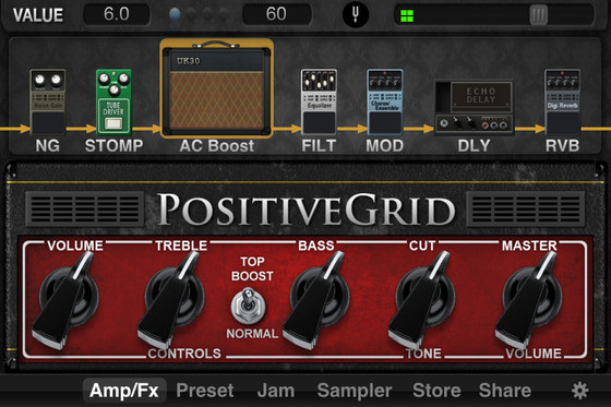 Positive Grid JamUp