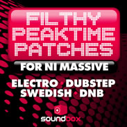 Soundbox Filhty Peaktime Patches for NI Massive